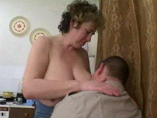 older russian seduces fat lad