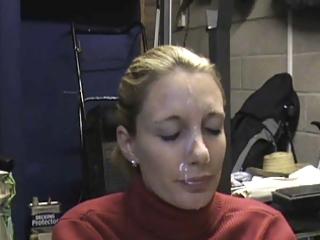 non-professional wife big facial