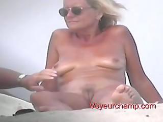 voyeurchamp- nude beach voyeur# 311 matures touch