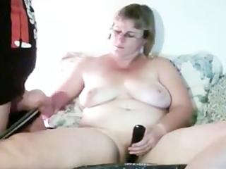 mom and shane handjob