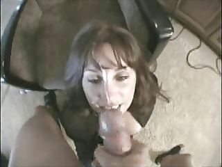 great facial on not my sister in law. amateur