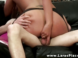 older babe pussy drilled from behind in hottest