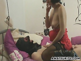 non-professional milf homemade full tugjob with