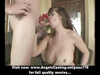badass milf does oral-job for young chap and has