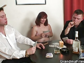 strip poker leads to some