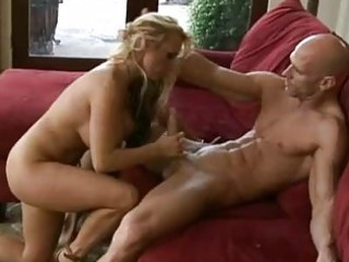breasty blonde d like to fuck in high heels rides
