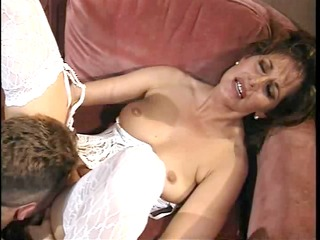 retro mother i fucked deep on couch