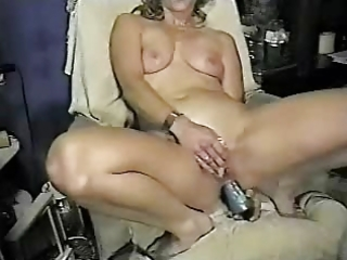 wife masturbating both holes