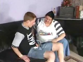 plump granny german