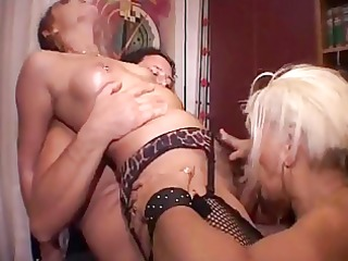 mature 3some in boots