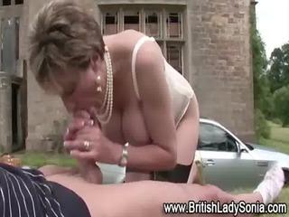 stocking milf engulf and fuck