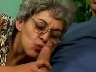 grey haired hairy milf fucked