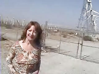 tish - teach flashing at the windmill farm!