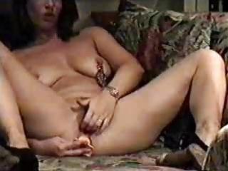 my perverted mom home alone masturbating