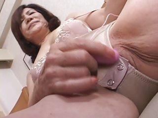 masturbating japanese gran part3