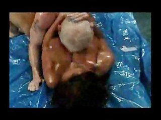 breasty booty wrestling mature donita dunes