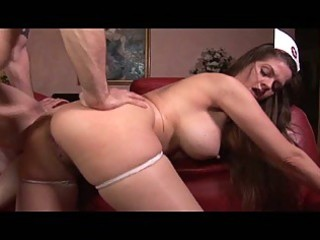 devilish large tits dark brown milf nurse