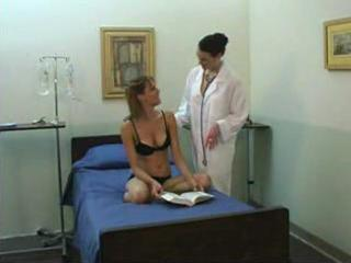 young hotty and mature lesbo doctor