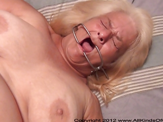 pov anal 26 year old granny wanda acquires bound