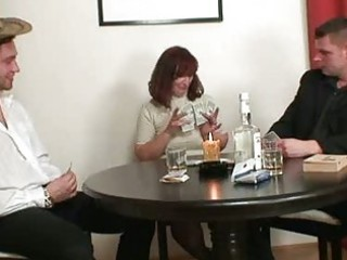 granny plays strip poker then receives double ...