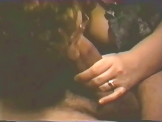 wife gives oral sex and handjob