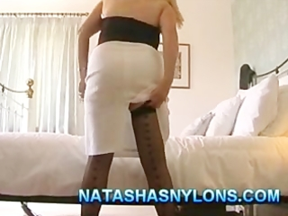 british mother i dilettante wife in stockings