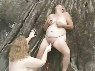 old lesbians having fun outdoor