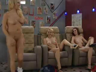 a group of milfs are showing the younger hotties