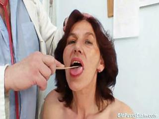 unshaved wet crack grandma visits pervy woman