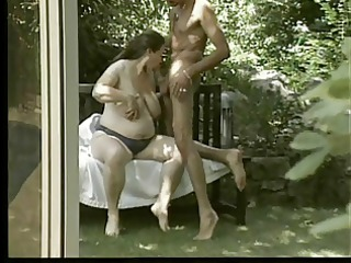 pregnant german mother i - outdoors anal