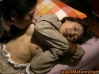japanese woman is kinky and older