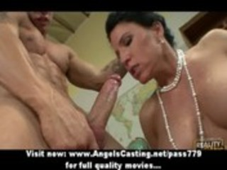 badass mother i does blowjob and titsjob for