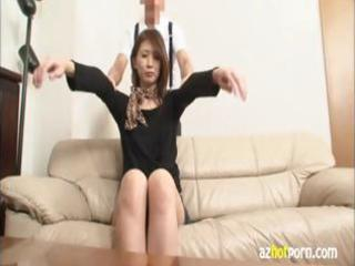 hawt japanese step mommy gets an erotic massage