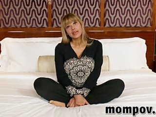 large tits and gazoo milf acquires group-fucked