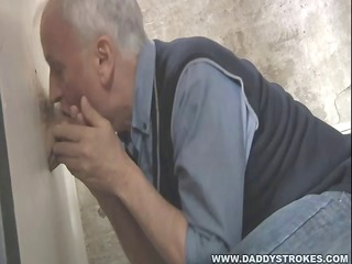 large rod throughout the gloryhole