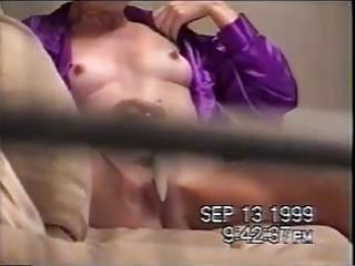 bad voyeur spied his mom masturbating. throughout
