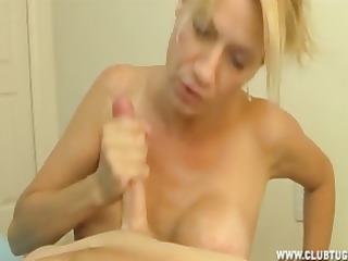 busty mother i cook jerking and blowjob