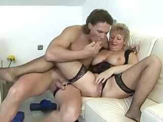 breasty german grandma
