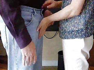 korean milf teases husbands diminutive dong pov
