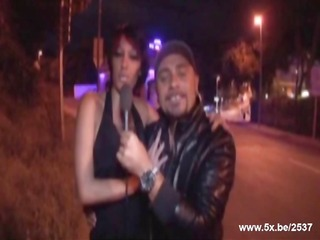 kenza analfucked by stefano in a nigth club