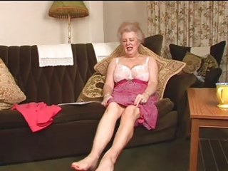 bewitching unshaved old granny fingering intro