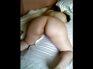 my curvy brazilian wife soft pale body - fingered