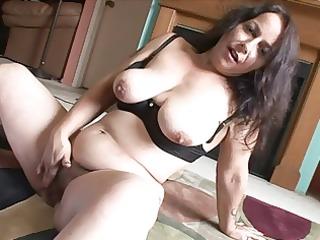 enjoyable fattie with a shaggy pussy!