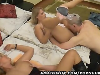 amateur groupsex with 5 sweethearts and 9 dicks