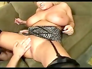 big titted d like to fuck gets a facial