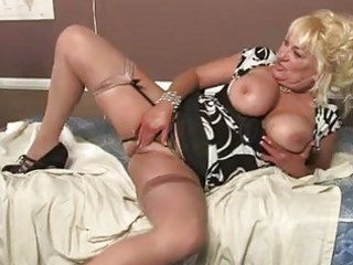 blonde momma with biggest whoppers in sexy