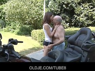 juvenile russian hotty rides actually old dude