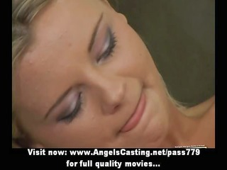 hawt youthful blond does oral-job and gets licked