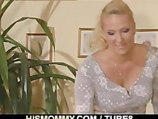 horny mommy seduces sons gf