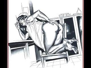 burglary turns into sex slavery for hot milf